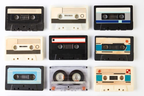 , How to Digitize Your Old Audio Cassettes from the 80's, Keepsake Solutions