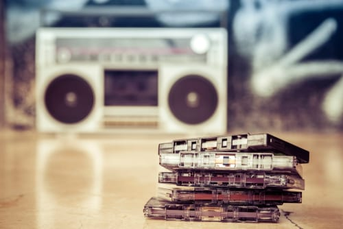 , History of Audio Cassette Tapes, Keepsake Solutions